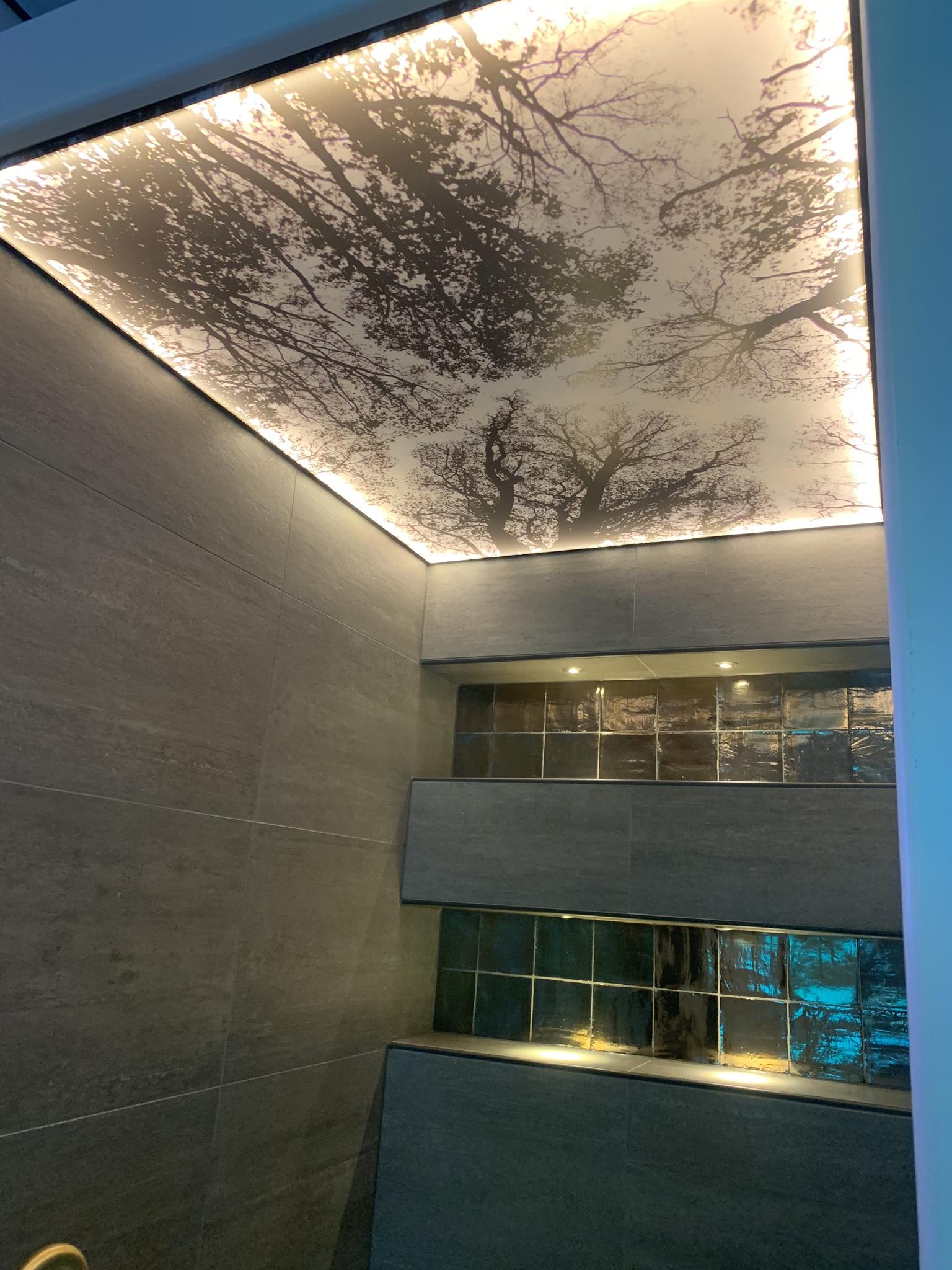 lichtplafond in toilet bij indara