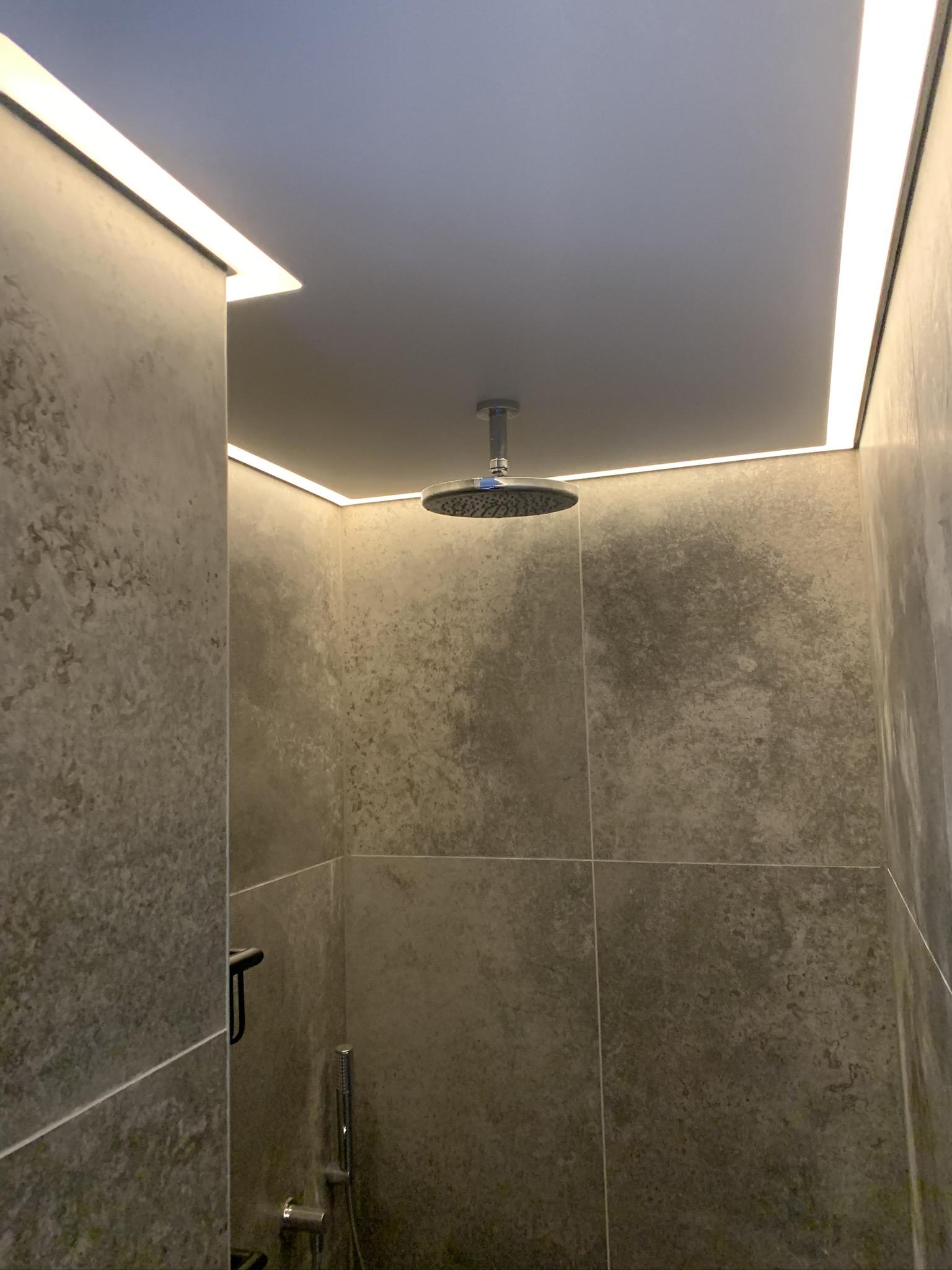 rand verlichting badkamer