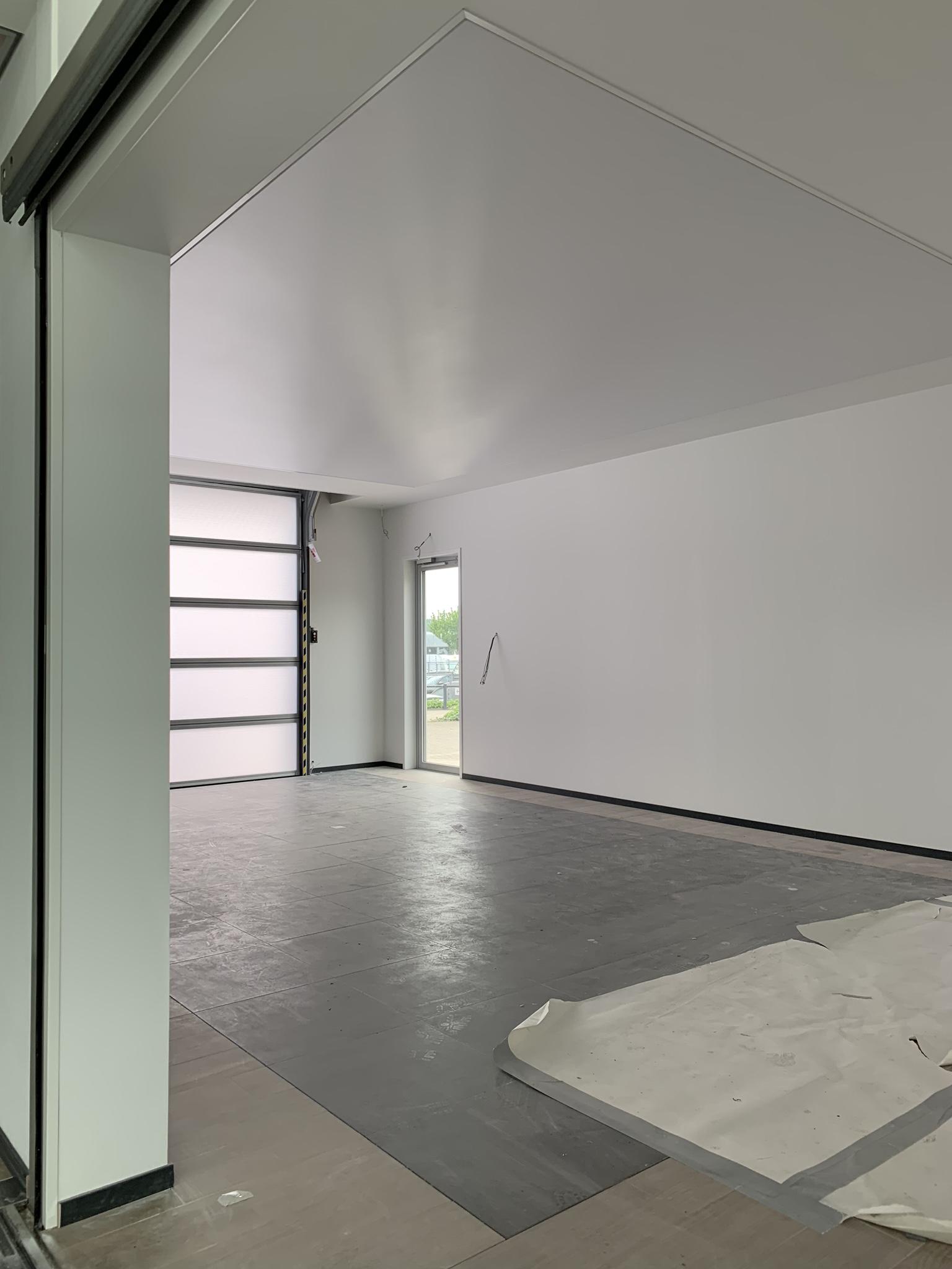 verlichting in garages met full led spanplafond