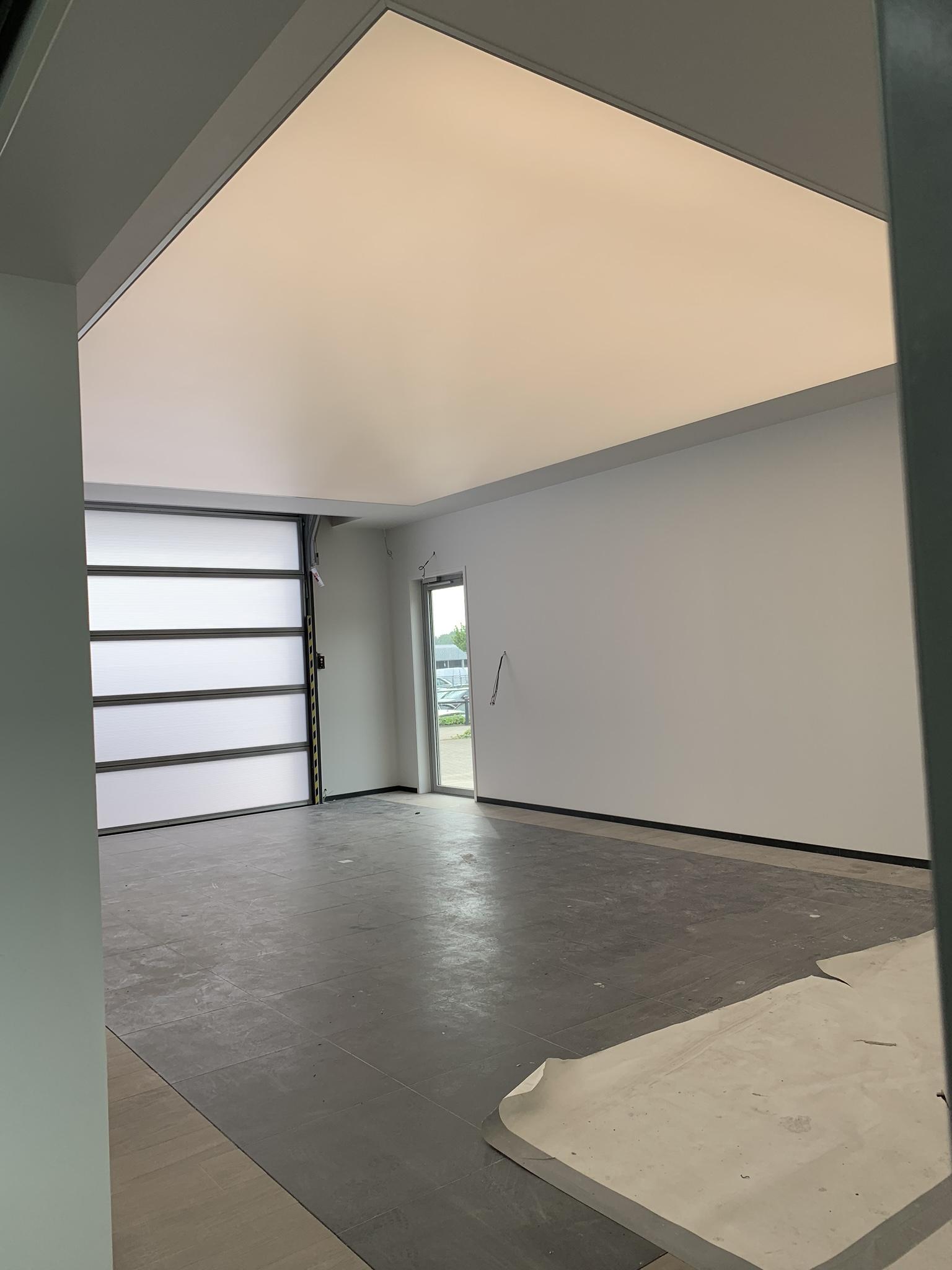 lichtprint spanplafond in garages