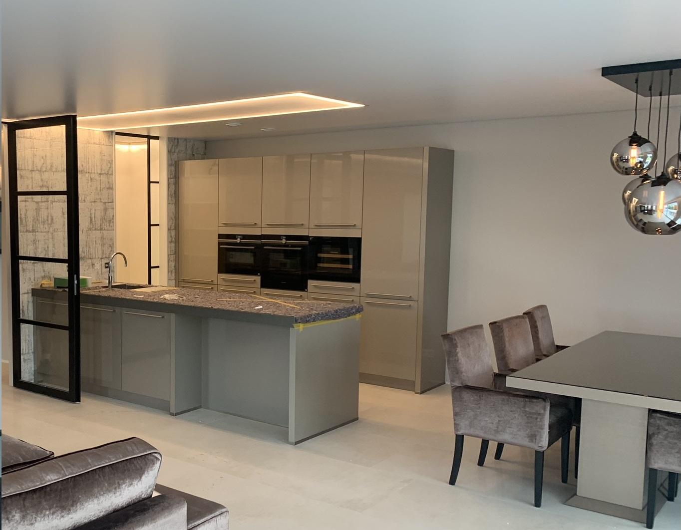keuken verlichting in uw plafond met indara spanplafond