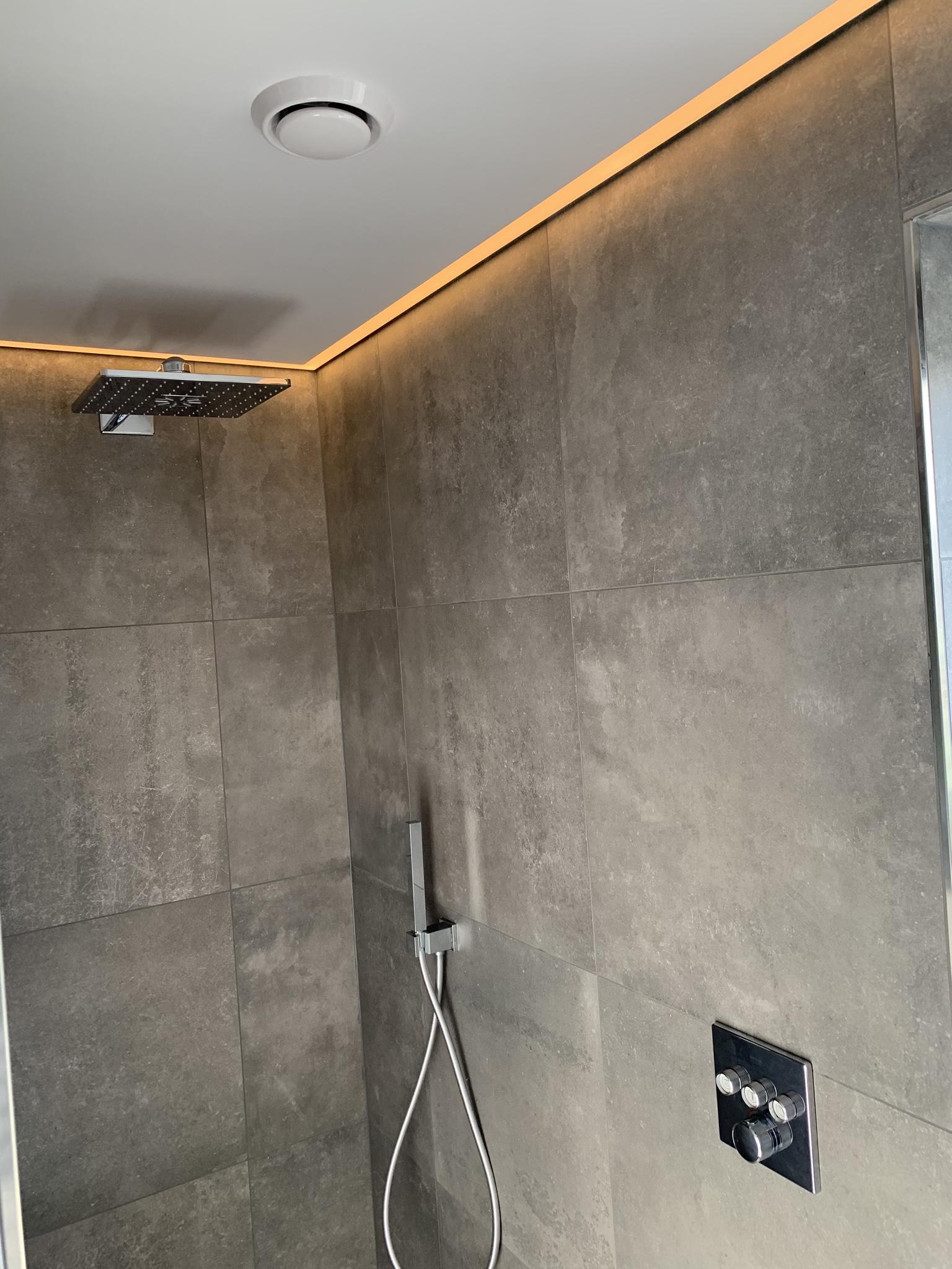 mooie sfeerverlichting in badkamers